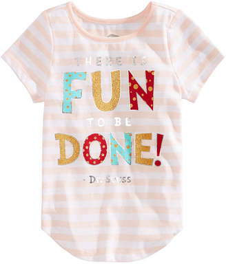 Hybrid Toddler Girls Dr. Seuss Graphic-Print T-shirt