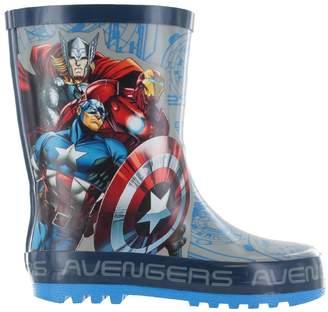 Marvel Boys Avengers Grey & Wellies Wellington Rain Boots Sizes UK Kids 13
