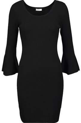 A.L.C. Samara Ribbed Merino Wool-Blend Mini Dress