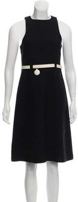 Courreges Wool Knee-Length Dress Set