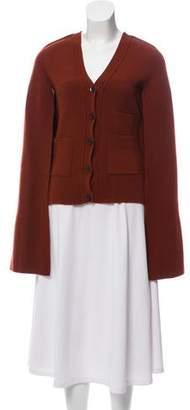 Celine Layered Wool Cardigan