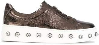 Schutz studded sole sneakers