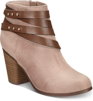 Material Girl Mini Ankle Booties, Women Shoes