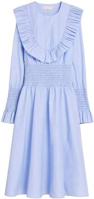 Smocked Cotton Dress