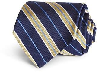 Brooks Brothers Split Stripe Classic Tie