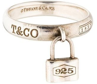 Tiffany & Co. 1837 Lock Ring $125 thestylecure.com