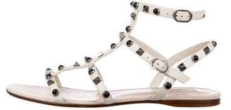Valentino Studed T-Strap Sandals