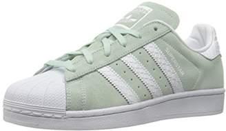 adidas Women's Shoes Superstar W Sneaker Collegiate Burgundy/White