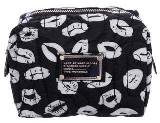Marc Jacobs Quilted Zip Quilted Nylon Cosmetic Bag