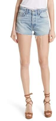 GRLFRND Cindy Side Stripe Denim Shorts