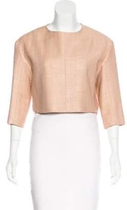 Chloé Silk Bouclé Jacket