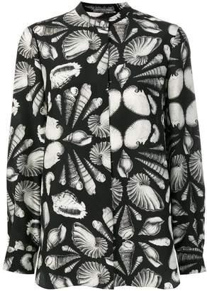 Alexander McQueen seashell print shirt