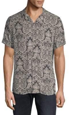 Slate & Stone Paisley Camp Shirt