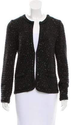 Amina Rubinacci Sequined Knit Cardigan