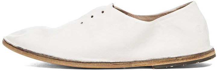 Marsèll Strasacco Leather Oxfords in White