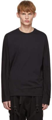 Y-3 Black Classic Long Sleeve T-Shirt