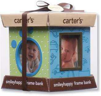 Carter's Resin Bank and 4 Sided Picture Frame, (Discontinued by Manufacturer)