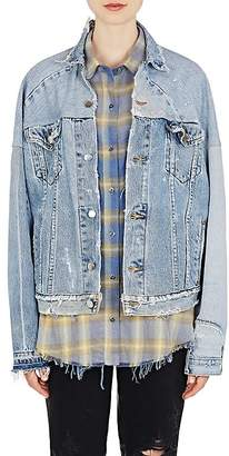 Amiri Women's Reconstructed Denim Jacket