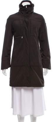 Post Card Knee-Length Coat Brown Knee-Length Coat