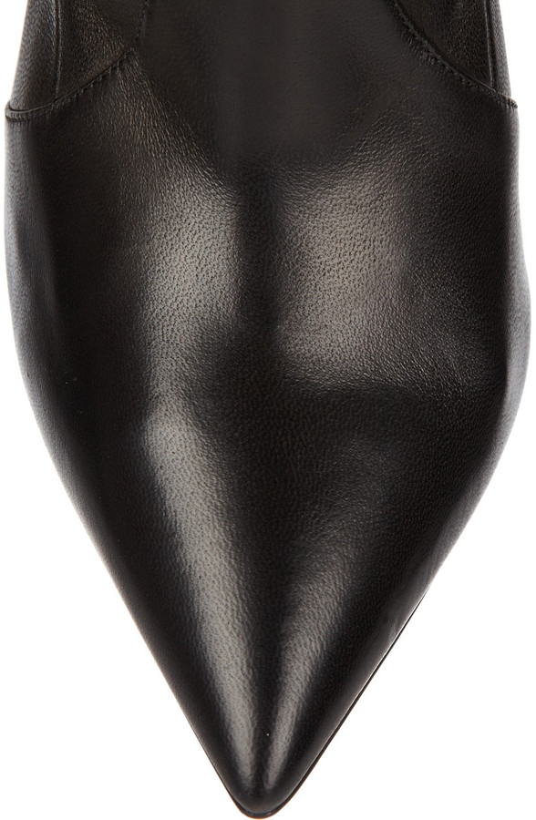 Casadei Stretch-leather knee boots
