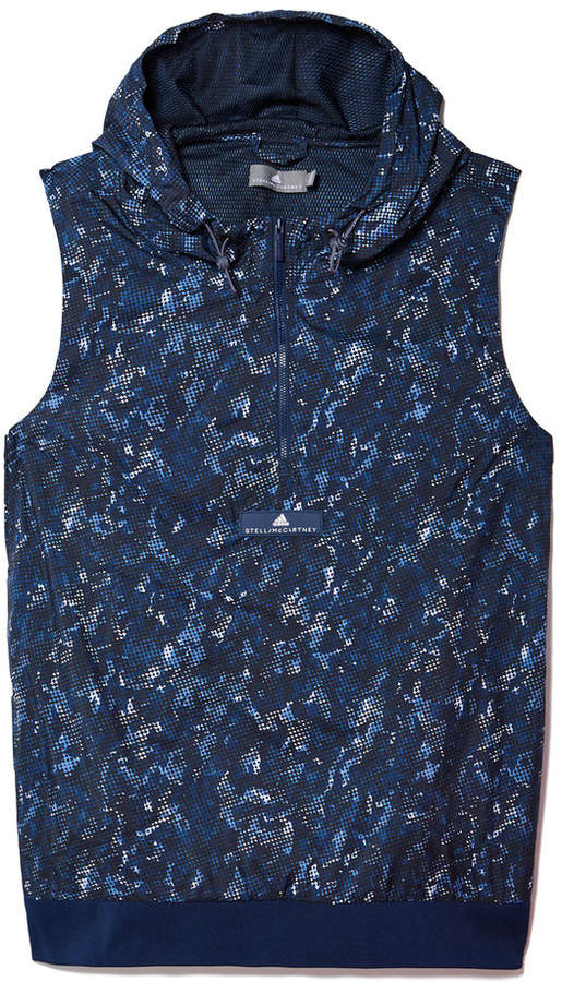 Adidas by Stella McCartney Run Adizero Gilet in Collegiate Navy/White/Black