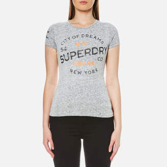 Superdry Women's City of Dreams T-Shirt