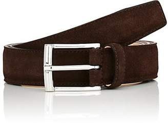 Crockett Jones Crockett & Jones Men's Suede Belt - Dk. brown