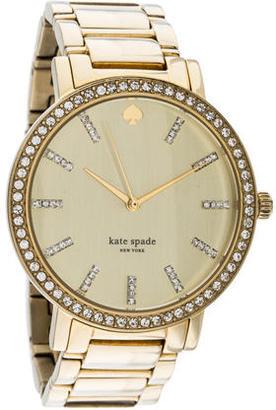 Kate Spade New York Gramercy Grand Watch $125 thestylecure.com