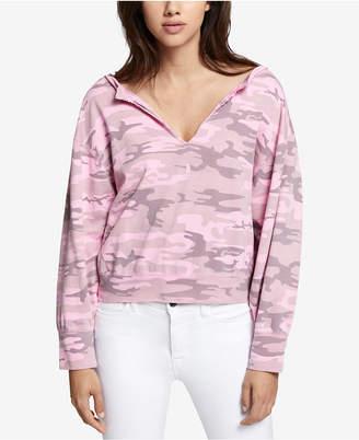 Sanctuary Breslin Cotton Camo-Print Sweatshirt