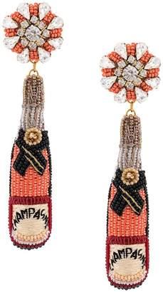 Mignonne Gavigan champagne earrings