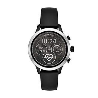 Michael Kors Women's 'Access Runway' Stainless Steel and Silicone Smart Watch