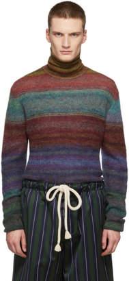 Missoni Multicolor Mohair Turtleneck