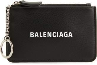 Balenciaga Everyday Leather Coin Purse