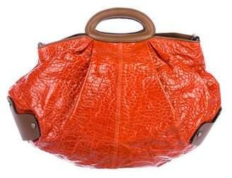 Marni Embossed Leather Balloon Bag