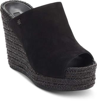 96e0c6d4119 DKNY Black Wedges - ShopStyle