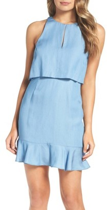 Women's Ali & Jay Maya Chambray Popover Dress $128 thestylecure.com