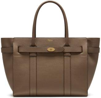 Mulberry Zipped Bayswater Clay Small Classic Grain