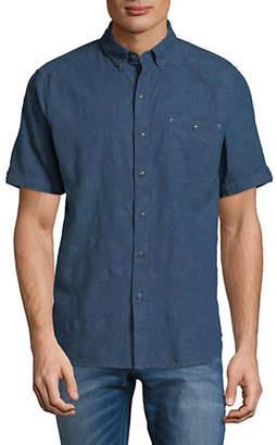 Tommy Bahama Desert Fronds Deep Short Sleeve Sport Shirt