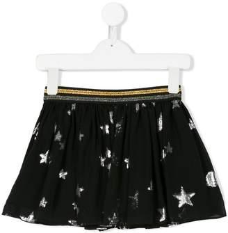 Zadig & Voltaire Kids planet patterned skirt