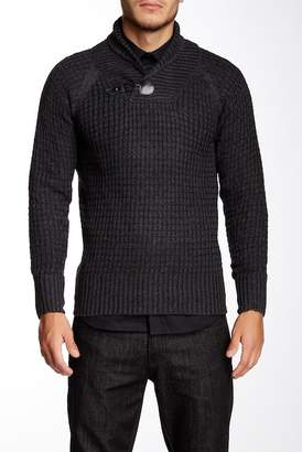 Yoki Shawl Collar Pullover Sweater