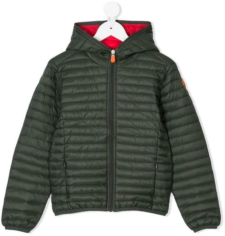 Save The Duck Kids hooded padded jacket