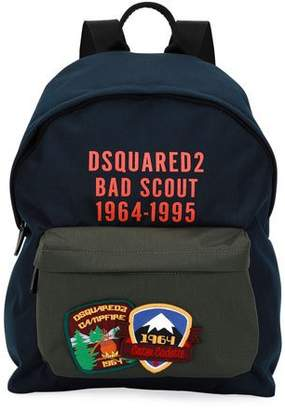 DSQUARED2 Bad Scout Patched Backpack