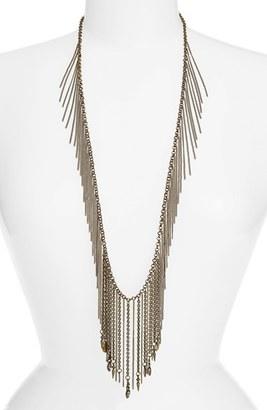 Women's Ettika Fringe Tassel Statement Necklace $65 thestylecure.com