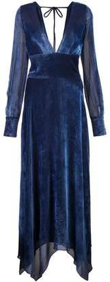 Yigal Azrouel long textured dress
