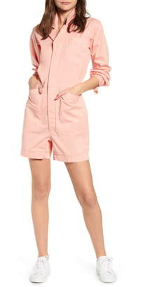 Alex Mill Utility Stretch Cotton Romper