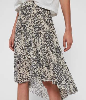 AllSaints Lea Patch Long Skirt