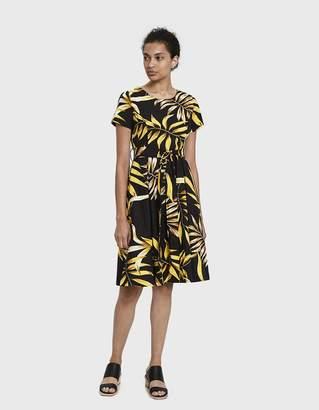 Stelen Morin A-Line Botanical-Print Dress