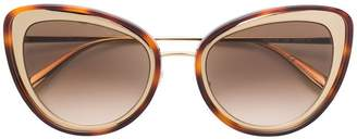 Alexander McQueen Eyewear cat eye sunglasses