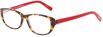 Eyebobs Hanky Panky Square Acetate Reading Glasses, +1.5