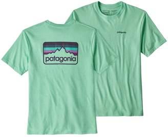 Patagonia Men's Line Logo Badge Cotton/Poly Responsibili-Tee®